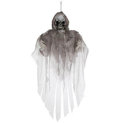 Animated Hanging Ghost Reaper - 1.5m