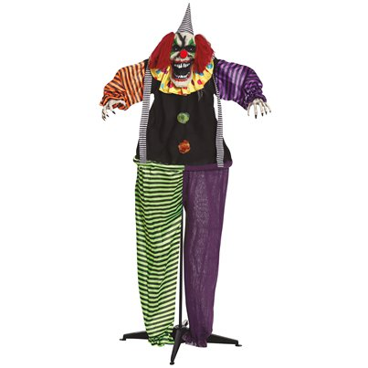Freestanding Animated Clown - 1.7m