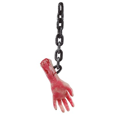 Severed Hand on a Chain