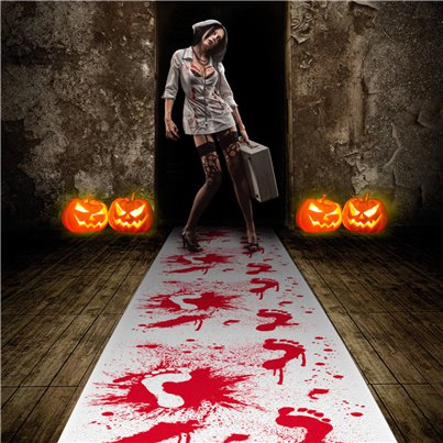Halloween Blood Stained Carpet - 4.5m