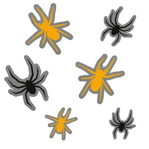 Spooky Sticky Spiders