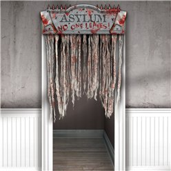 Asylum Bloody Door Curtain
