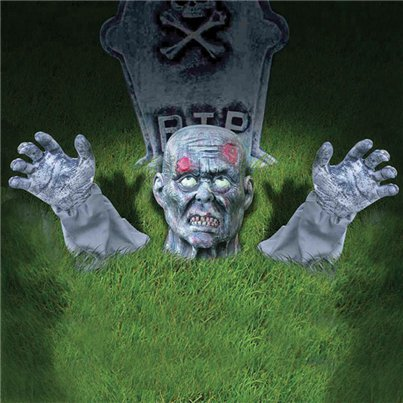 Zombie Ground Prop - 26cm