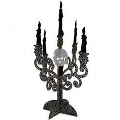 Halloween Candelabra Table Centrepiece Decorations - 35cm