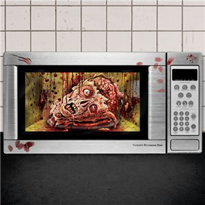 Zombie Microwave Decoration - 60cm