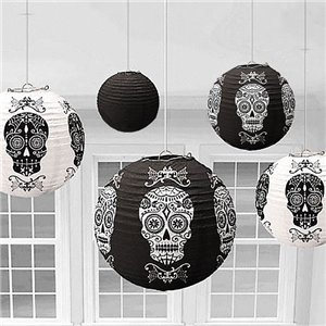 Halloween Hanging Lantern Decorations - 30.5cm