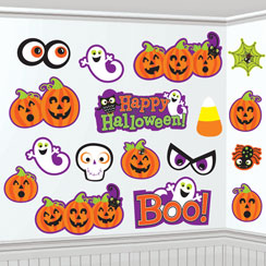 Friendly Halloween Cutouts - 30cm