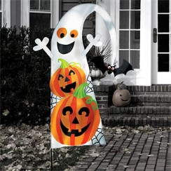 Halloween Friendly Yard Flag - 1.4m
