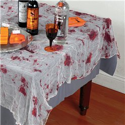 Bloody Gauze Tablecloth - 1.5m x 2.1m