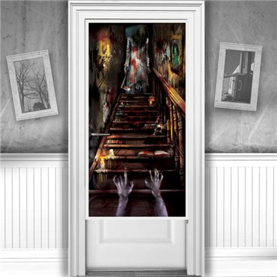 Haunted House Door Decoration - 1.65m