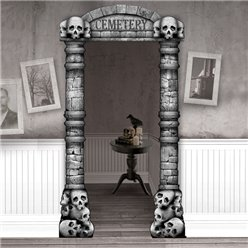 Cemetery Deluxe Door Curtain - 2.15m