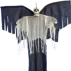Hanging Deluxe Winged Reaper - 2.1m
