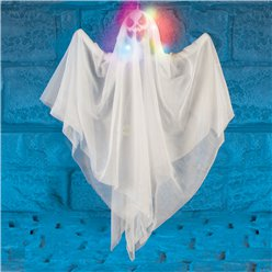 Light Up Hanging Ghost - 70cm