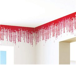 Dripping Blood Border - 3.6m Halloween Decoration