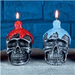 Skull Candle - 10cm Assorted