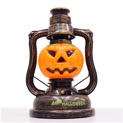 Halloween Pumpkin or Skull Lanterns - 18cm Assorted Design