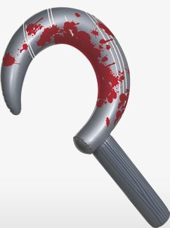 Inflatable Sickle - 60cm