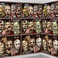 Scary Head Backdrop - 1.2m x 9m