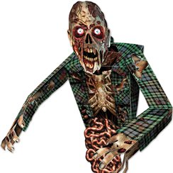 3D Zombie Wall Decoration - 81cm