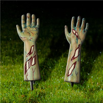 Zombie Arms Garden Stakes - 33cm