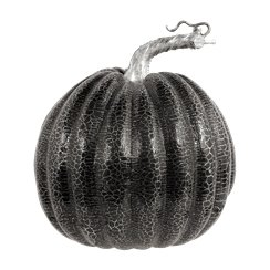 Medium Black Pumpkin - 16x17cm