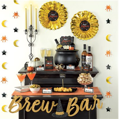 Halloween Brew Bar Decoration Kit