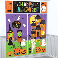 Halloween Friends Scene Setter Kit