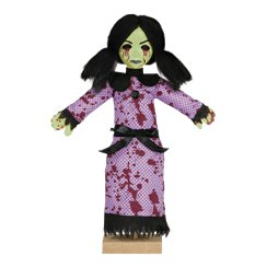 Standing Creepy Girl Prop - 28cm