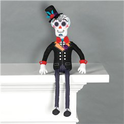 Day of the Dead Groom Sitting Prop - 50cm