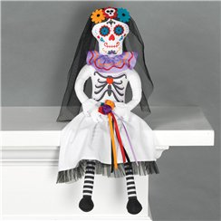 Day of the Dead Bride Sitting Prop - 50cm