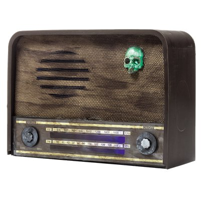 Haunted Wireless Radio - 31cm