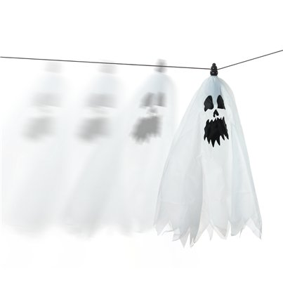 Zip Wire Ghost - 28 cm