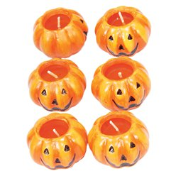 Ceramic Pumpkin Candles (6cm)