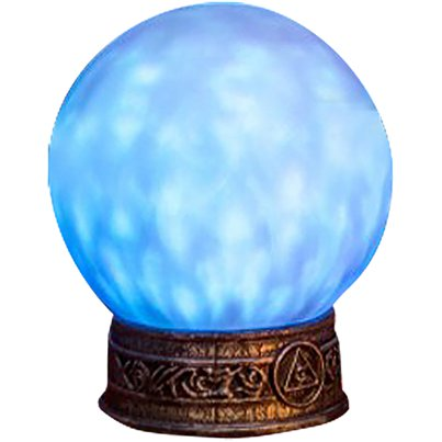 Crystal Ball with Light & Sound (21cm)