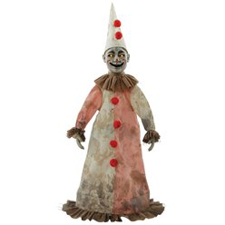 Creepy Antique Clown Animated Figure (81cm)
