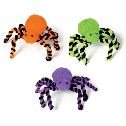 Colourful Spiders - 27cm Assorted Colours