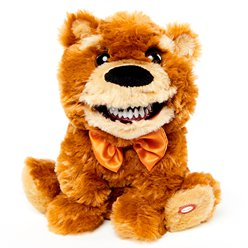 Animated Scary Teddy Bear (25cm)