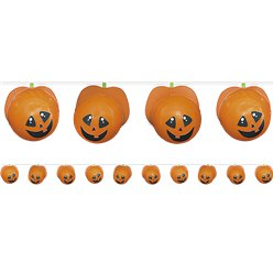 Make Your Own Pumpkin Balloon Garland - 1.5m