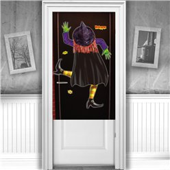 Crashed Witch Door Cover - 1.1m x 76cm