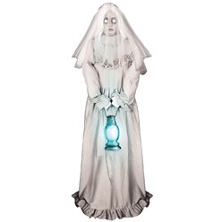 Animated Ghostly Lady - 1.5m