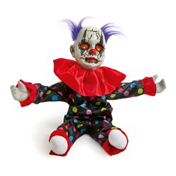 Animated Standing Clown - 55cm