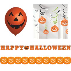 Halloween Pumpkin Decorating Kit - Value