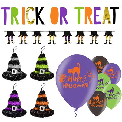Value Trick or Treat Decorating Kit