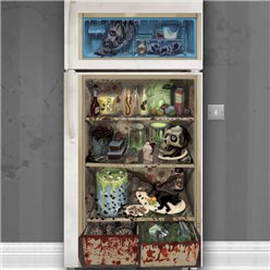 Spooky Fridge Door Banner - 1.7m
