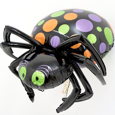 "Halloween Spider Multi-Balloon - 33"" Foil"