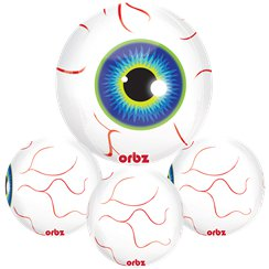 "Eyeball Orbz Balloon - 16""-18"" Foil"