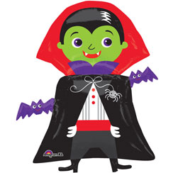 "Dracula Supershape Balloon - 31"" Foil"