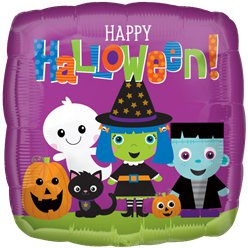"Halloween Friends Balloon - 18"" Foil"
