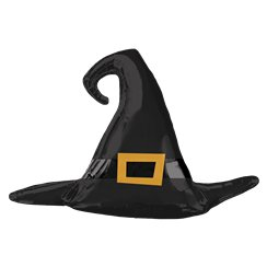 "Witch Hat Supershape Foil Balloon (39"")"