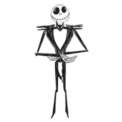Jack Skellington Foil Airwalker Balloon (2.1m)